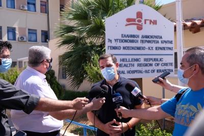Στην Κρήτη ο Τσίπρας: Μην τολμήσει ο Μητσοτάκης να προχωρήσει σε συγχωνεύσεις νοσοκομείων