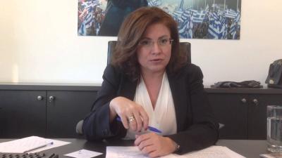 Σπυράκη: Η «καθαρή ενέργεια» προσφέρει ευκαιρίες για εργασία αλλά και ανάπτυξη