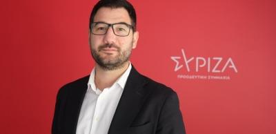 Ηλιόπουλος (ΣΥΡΙΖΑ): Έγκλημα να ζητήσουμε εκλογές με αυτές τις υγειονομικές συνθήκες