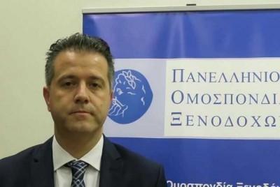 Γρηγόρης Τάσιος πρόεδρος της Πανελλήνιας Ομοσπονδίας Ξενοδόχων στο ΒΝ: Έκλεισε η τουριστική σεζόν για το 2020
