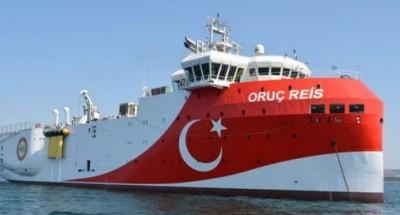 Προκαλεί η Τουρκία: Νέα  Navtex για το Oruc Reis στην Ανατολική Μεσόγειο ως τις 4 Νοεμβρίου
