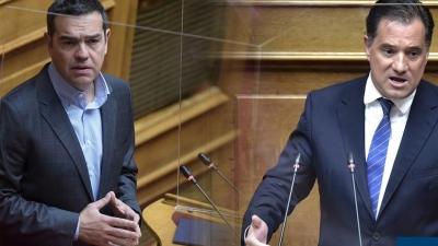 Τσίπρας όταν έφτασε ο Άδωνις Γεωργιάδης στην Βουλή: Ήρθε ο νονός; Πάντα άξιος