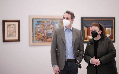 Επίσκεψη Μητσοτάκη στην ανακαινισμένη Εθνική Πινακοθήκη – Τι ανέφερε ο πρωθυπουργός