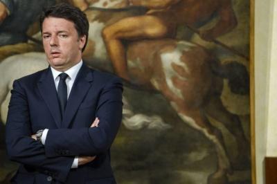 Renzi: Μην αφήσετε την τύχη της Ιταλίας στα χέρια μαθητευόμενων μάγων
