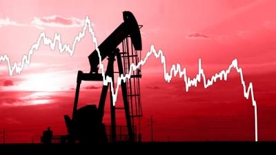 Πτώση για το πετρέλαιο μετά την απρόσμενη αύξηση αποθεμάτων αργού στις ΗΠΑ - Στα 55,89 δολ/βαρέλι το brent