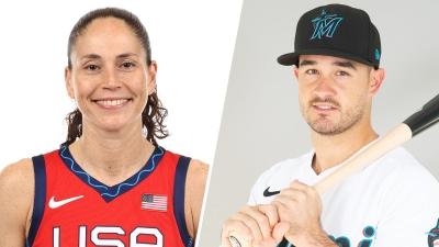 Ολυμπιακοί Αγώνες: Η Sue Bird και ο Eddy Alvarez σημαιοφόροι για την Team USA