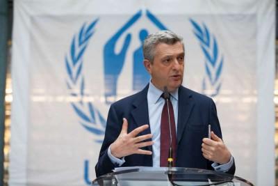 Θετικός στον κορωνοϊό ο Ύπατος Αρμοστής του ΟΗΕ για τους Πρόσφυγες