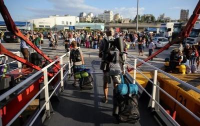 Αυξημένη η κίνηση στα λιμάνια ενόψει του Δεκαπενταύγουστου
