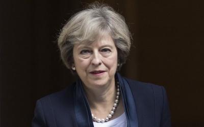 Εκπρόσωπος May: Η Βρετανίδα πρωθυπουργός θα συζητήσει με τον Trump για την εμπορική σχέση ΗΠΑ - Βρετανίας
