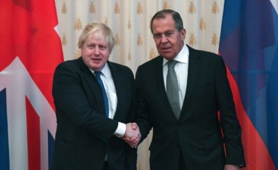 Johnson (ΥΠΕΞ Βρετανίας): Θα εργαστούμε από κοινού με τη Ρωσία για τη βελτίωση των μεταξύ μας σχέσεων