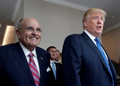Ο Δικηγορικός Σύλλογος Ν. Υόρκης αφαιρεί από μέλος τον Rudy Giuliani