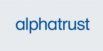 Alpha Trust: Στις 11/02 η αποκοπή του μερίσματος 0,157 ευρώ ανά μετοχή