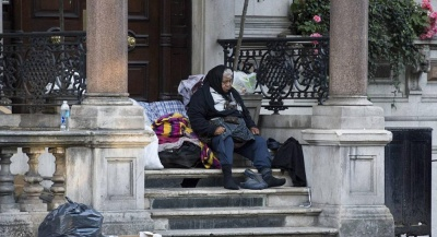 Guardian: Στη Βρετανία το 2019, ένας στους 200 κατοίκους είναι άστεγος