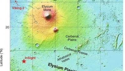 NASA: Σεισμικά ενεργός ο Άρης - Ο InSight κατέγραψε πάνω από 20 σεισμούς 3 έως 4 Ρίχτερ