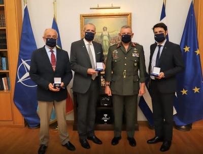Συνάντηση Αρχηγού ΓΕΕΘΑ με Διοργανωτές της Defence Exhibition Athens (DEFEA) 2021 – Τι συζητήθηκε