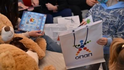 Ευχές και 5.034 δώρα στα παιδιά από τα Ευχοστολίδια