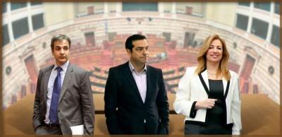 Σύγκρουση εφ' όλης της ύλης κυβέρνησης και αντιπολίτευσης και... στο βάθος εκλογές