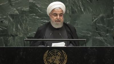 Rouhani (πρόεδρος Ιράν): Αρνείται κάθε διαπραγμάτευση με τις ΗΠΑ υπό το καθεστώς των κυρώσεων