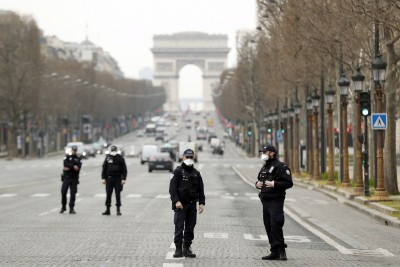 Γαλλία: Επιβραδύνεται η πορεία του κορωνοϊού - Στους 44 νεκροί το τελευταίο 24ωρο
