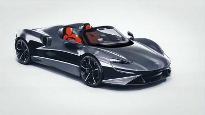 Η McLaren Elva δεν έχει ούτε παρμπρίζ, μήτε παράθυρα!