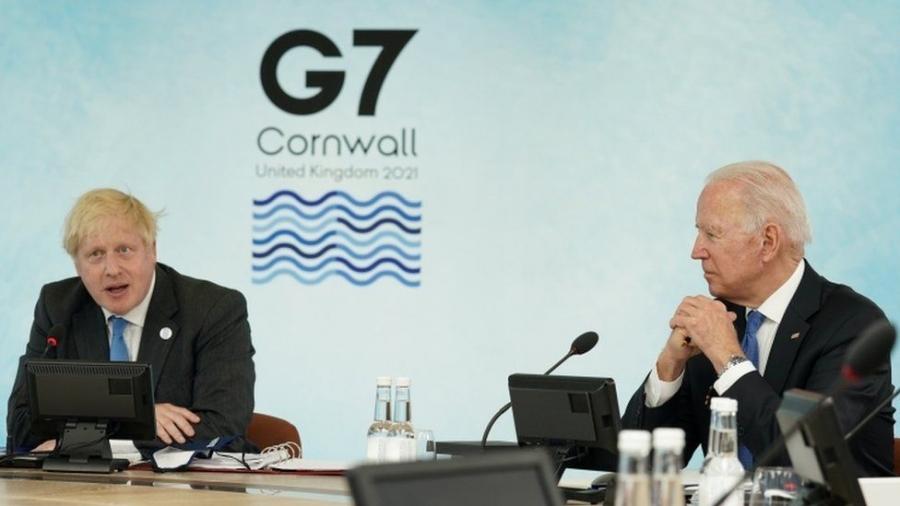 Johnson (Βρετανία): Η ομάδα G7 δεσμεύθηκε στη διανομή 1 δισεκ. δόσεων εμβολίων κατά της Covid-19