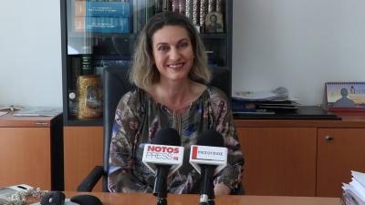 Ευσταθία Λιάρου, δήμαρχος Ελαφονήσου: Στόχος μας είναι να αναβαθμίσουμε το Παυλοπέτρι για την ενίσχυση του καταδυτικού τουρισμού