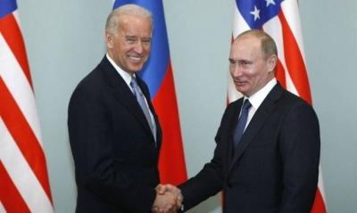 Στην πρώτη επικοινωνία τους Biden - Putin, μίλησαν για START, Ουκρανία, Navalny και ρωσικές παρεμβάσεις