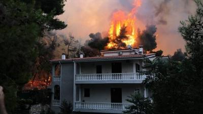 Προκαταρκτική έρευνα για την δικηγόρο που «προσευχόταν» να καεί η Εκάλη και το Καστρί