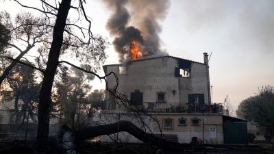 Καταστροφικές πυρκαγιές: 330 επικίνδυνες κατοικίες μέχρι στιγμής - Συνεχίζονται οι έλεγχοι