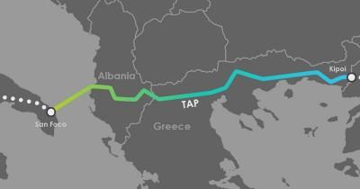 ΔΕΠΑ Εμπορίας: Άρχισε η τροφοδοσία της Ελλάδας με φυσικό αέριο από τον αγωγό ΤΑΡ