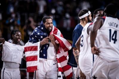 Μπάσκετ: Χρυσές οι ΗΠΑ για 4η συνεχόμενη Ολυμπιάδα, κέρδισαν τη Γαλλία με 87-82!