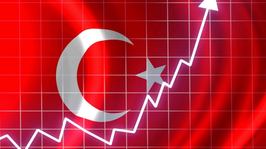 Στο 15,61% επιταχύνθηκε ο πληθωρισμός στην Τουρκία τον Φεβρουάριο του 2021