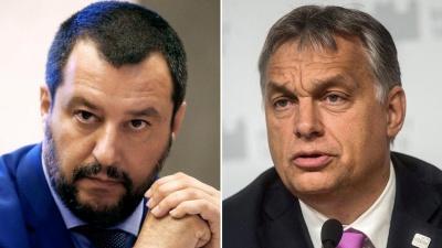 Salvini: H Γαλλία πρέπει να επιδείξει μεγαλύτερη αλληλεγγύη στο μεταναστευτικό - Orban: Θέλουμε μια νέα Ευρωπαϊκή Επιτροπή