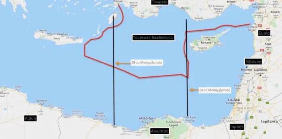 Πώς βλέπει η Ελλάδα την τουρκική «πρόσκληση» στην Αίγυπτο για την οριοθέτηση ΑΟΖ