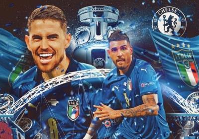 Πρωταθλητές την ίδια σεζόν στην Ευρώπη με σύλλογο και Εθνική: Ζορζίνιο και Έμερσον μπήκαν στο κλειστό κλαμπ των «14»