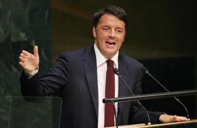Renzi (Ιταλία): Η χώρα χρειάζεται μια ισχυρότερη κυβέρνηση, δεν είναι η καλύτερη του κόσμου κε.Conte
