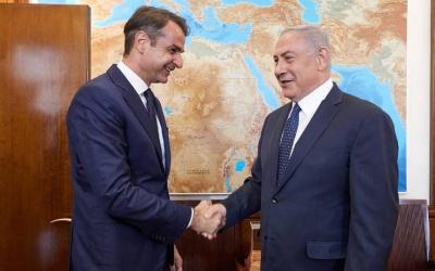 Συνάντηση Μητσοτάκη - Netanyahu - Στο επίκεντρο η νέα στρατηγική συνεργασία Ελλάδας - Ισραήλ