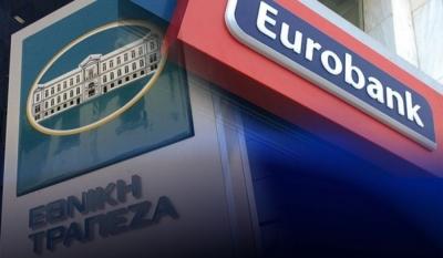 Εθνική και Eurobank ενημέρωσαν τον SSM ότι δεν σχεδιάζουν αύξηση κεφαλαίου το 2021 – Έως 16 Ιουλίου το ΤΧΣ αποεπενδύει από τη Eurobank πουλώντας το 1,34%