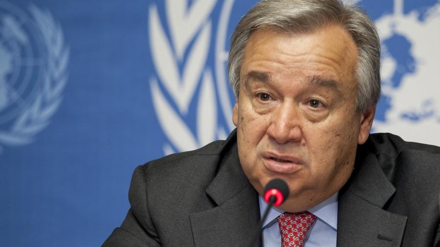 Guterres (ΟΗΕ): Ανησυχία για τις κινήσεις της Τουρκίας στα Βαρώσια