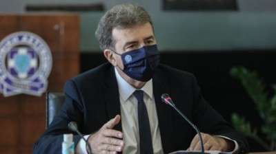 Χρυσοχοΐδης (υπ. Προστασίας Πολίτη): Με τήρηση των μέτρων κατά του κορωνοΐού οι εορτασμοί των Αγίων Νικολάου και Σπυρίδωνα