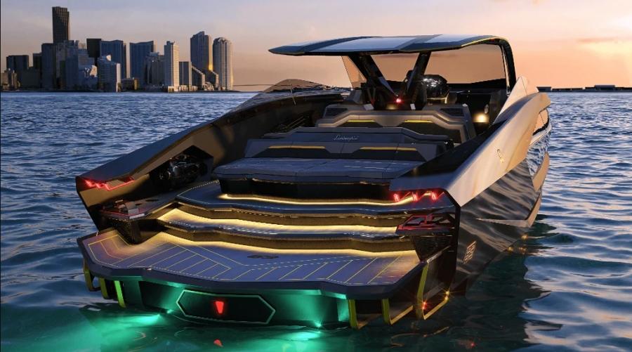 Tecnomar 63: Το σκάφος του Conor McGregor από τη Lamborghini που αξίζει 3,5 εκατομμύρια δολάρια