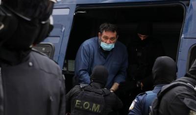 Στις φυλακές Δομοκού οδηγείται ο Γιάννης Λαγός, καταδικασθείς για διεύθυνση εγκληματικής οργάνωσης