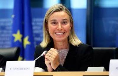 Η Federica Mogherini (ΕΕ) αποχαιρετά με ένα δείπνο τους ηγέτες των χωρών των δυτικών Βαλκανίων