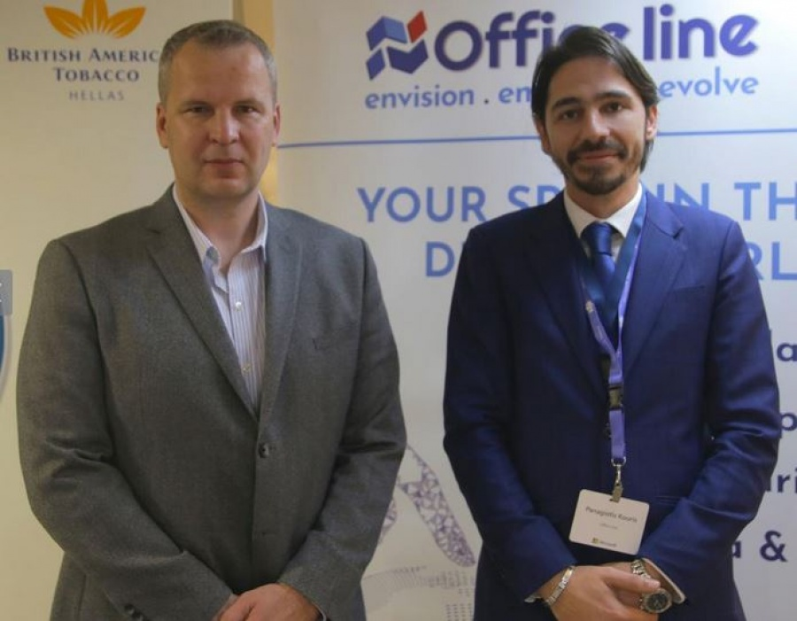 Cloud Adoption Training από την Office Line στην British American Tobacco Hellas