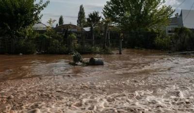 Καταγραφή των ζημιών στην Θεσσαλία από τις υπηρεσίες του υπουργείου Αγροτικής Ανάπτυξης και του ΕΛΓΑ