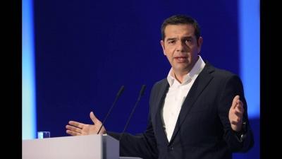 Τσίπρας: Το ψηφοδέλτιο της ΝΔ είναι ψηφοδέλτιο του ΔΝΤ, του Weber και της ολιγαρχίας