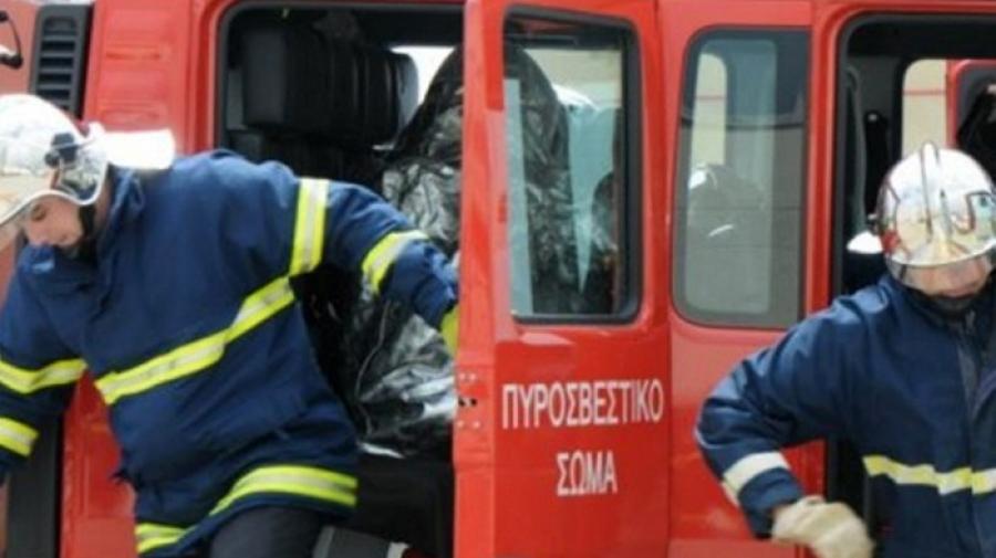 Συναγερμός στην Πυροσβεστική - Φωτιά στη Μάνδρα Αττικής