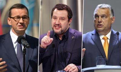 Διεργασίες για κοινή ευρωπαϊκή ομάδα από Orban (Fidesz), Salvini (Lega) και Morawiecki (PiS)