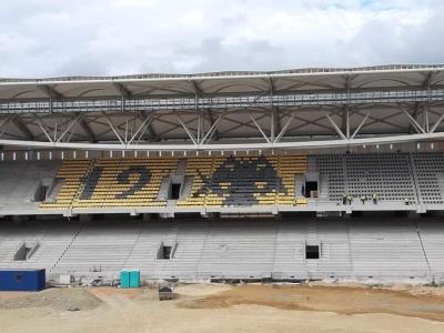 ΑΕΚ: Σχηματίστηκε ο δικέφαλος στις κερκίδες της «Αγιάς Σοφιάς – OPAP Arena»!
