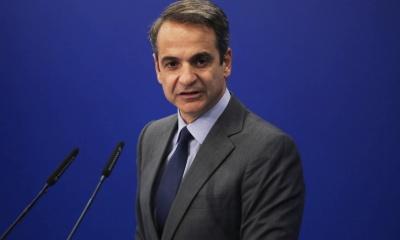 Μητσοτάκης: Αρχίζουμε τη συζήτηση με τους Θεσμούς για τη μείωση του πλεονάσματος - Γεωγραφικά γελοία η συμφωνία της Τουρκίας με τη Λιβύη